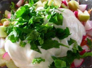 Витаминный салат из редиса | Рецепты вкусно