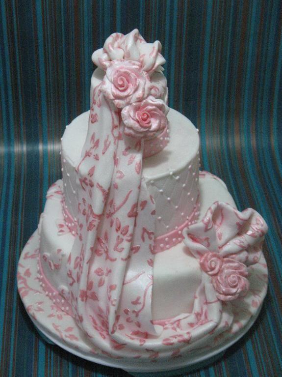 This is beautiful - wedding cake
