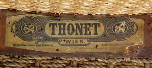 THONET Freres inventeurs et fondateurs de l'industrie des meubles en bois courbé