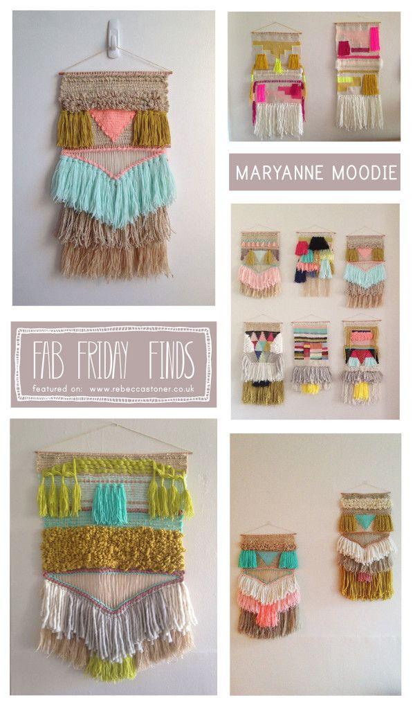 Fab Friday Finds - Week 10 - Maryanne Moodie - on Rebecca Stoner www.rebeccastoner.co.uk