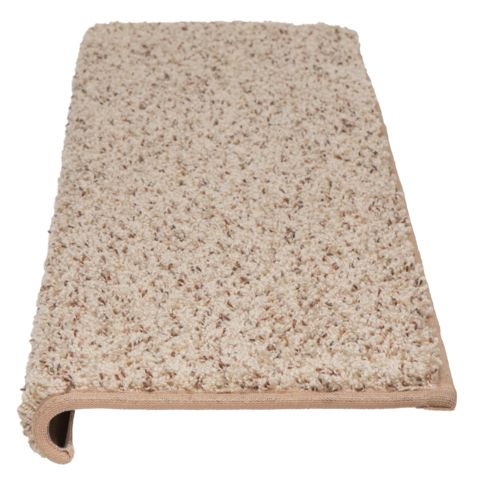 Windsor Adhesive Bullnose Carpet Stair Tread With Padding