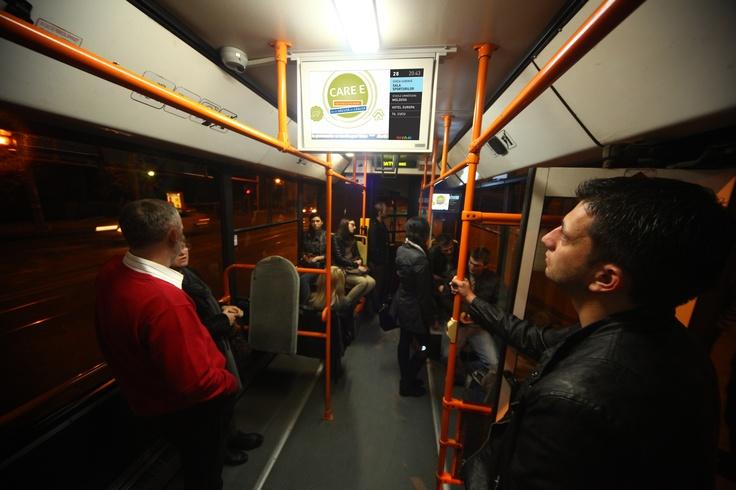 Public Transport   Tranzit: real time information #advertising #digital #OOH