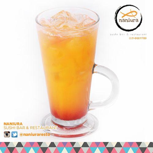 #FruitPunch this soda will punch you fresh! Lets order: Naniura Sushibar Restaurant Jakarta Timur 021-86611789 || Tag ur reviews #NaniuraSushi #FoodPorn #SushiLover #SushiResto #Fruit #Soda