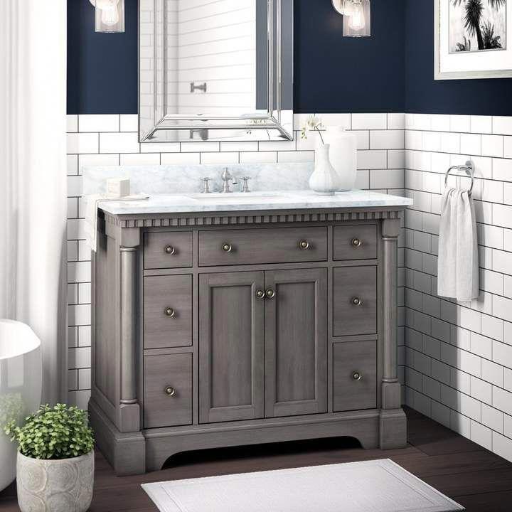 seadrift 42 single bathroom vanity set joss main on vanity for bathroom id=35588