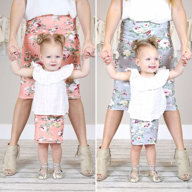 GROOPDEALZ: Was $23, NOW $9.99 Each! Get a set shipped for $6 Matching Adult and Child Floral Skirts - 6 Colors! Be Cute: https://rvst.shop/2Ciys4y #ad