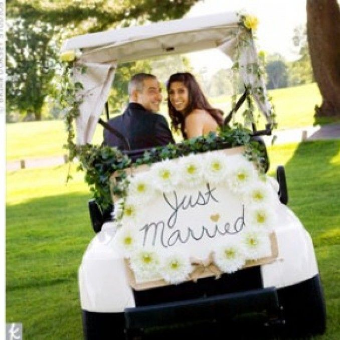 Golf Course Wedding Ideas: 27 Best Golf Carts Images On Pinterest