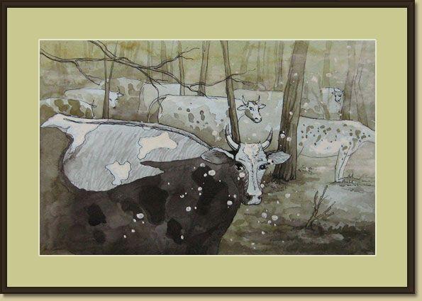 Корова в искусстве - 6 663 картинки. Поиск Mail.Ru