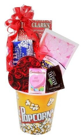 valentines gift basket for him diy