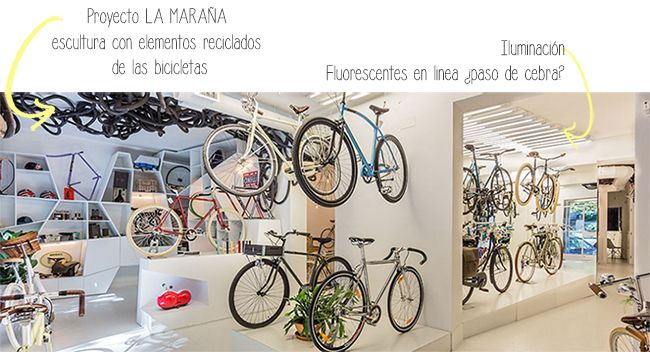 Slowroom más que una tienda de bicis.