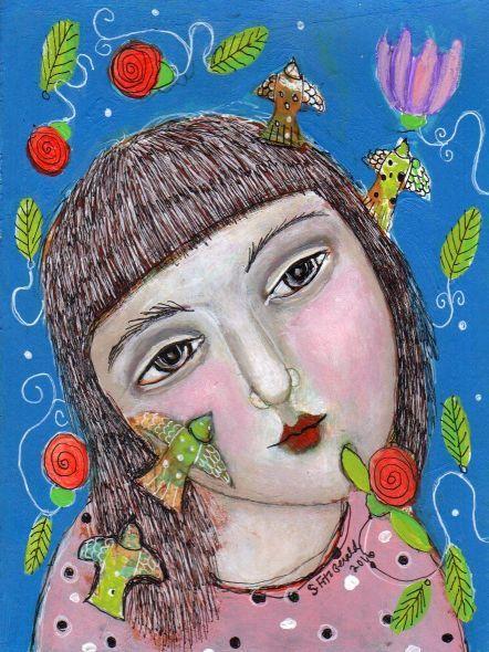 Картинки женщина лето