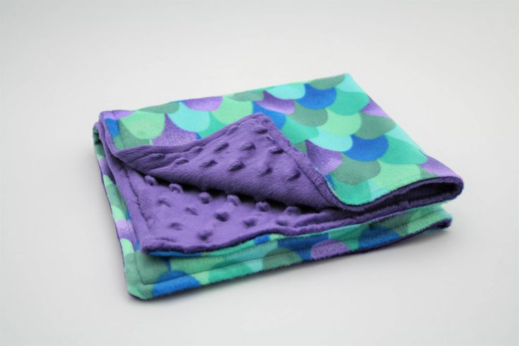 Excited to share the latest addition to my #etsy shop: Mermaid Baby Lovey / Mermaid Tail Scales Baby Blanket / Purple Green and Blue Small Baby Blanket / Free Shipping http://etsy.me/2CH7Nz7 #accessories #purple #babyshower #mothersday #green #babyblanket #purpleblanke