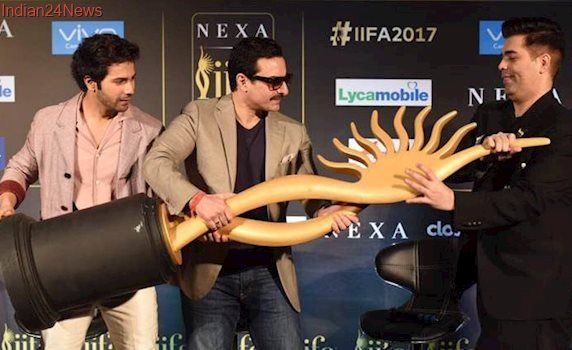 IIFA 2017: Saif Ali Khan and Karan Johar get candid about sharing the stage as co-hosts