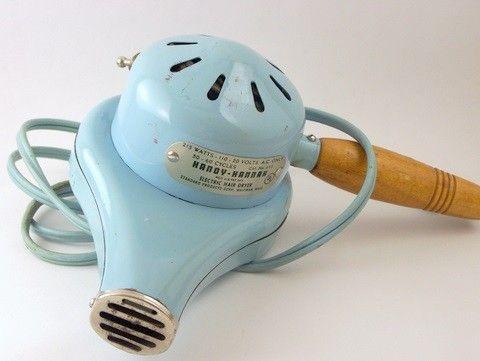 Retro hair dryer - love it.