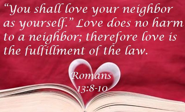 Good Morning from Trinity, TX  Today is Sunday February 21, 2016   Day 52 on the 2016 Journey  Make It A Great Day, Everyday!  Love Your Neighbor  Today's Scriptures: Romans 13:8-10  https://www.biblegateway.com/passage/?search=Romans+13%3A8-10&version=NKJV Owe no one anything except to love one another, for he who loves another has fulfilled the law... Inspirational Song https://youtu.be/OgqYYk-0wDs