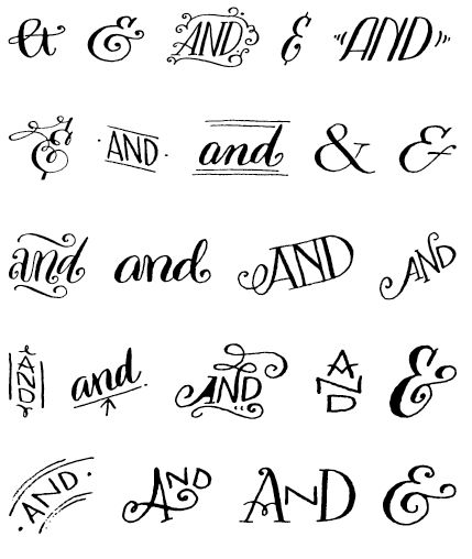 goodtypography: Bookeyed Sadie Ampersands (Free Download)