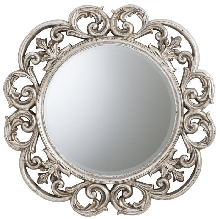 Gallery Direct Chartwell Mirror Silver