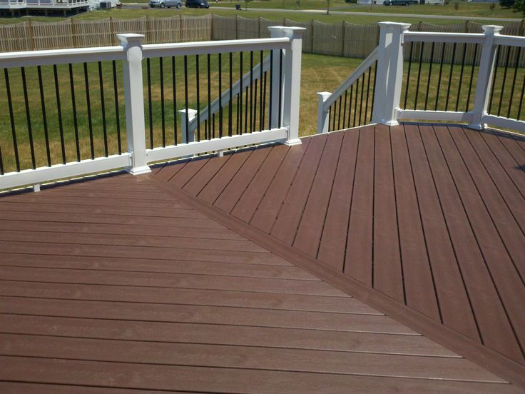 9 best atlantic deck originals images on pinterest vinyl for Composite decking and railing