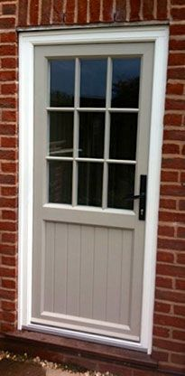 grey upvc back door google search - Exterior Back Doors