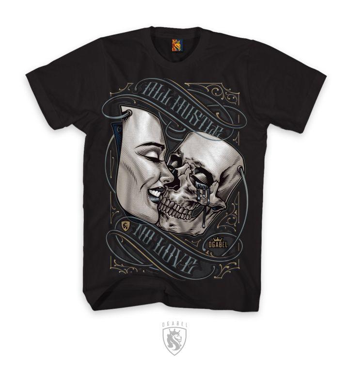 """OG Abel """"Kiss Mask"""" Men's tee"""