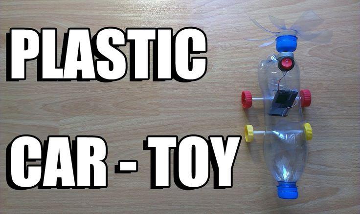 Как сделать пластиковый автомобиль - игрушечный автомобиль