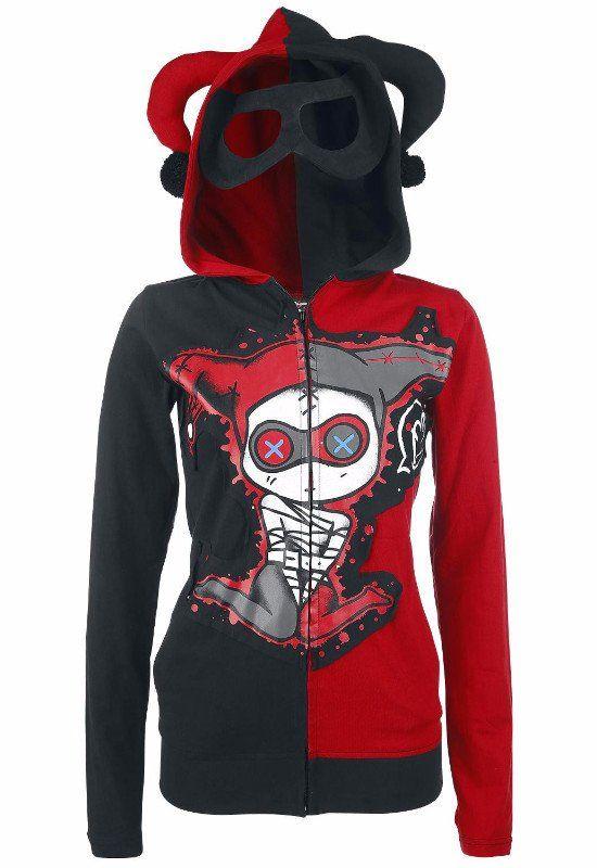 Jester Red & Black Hoodie