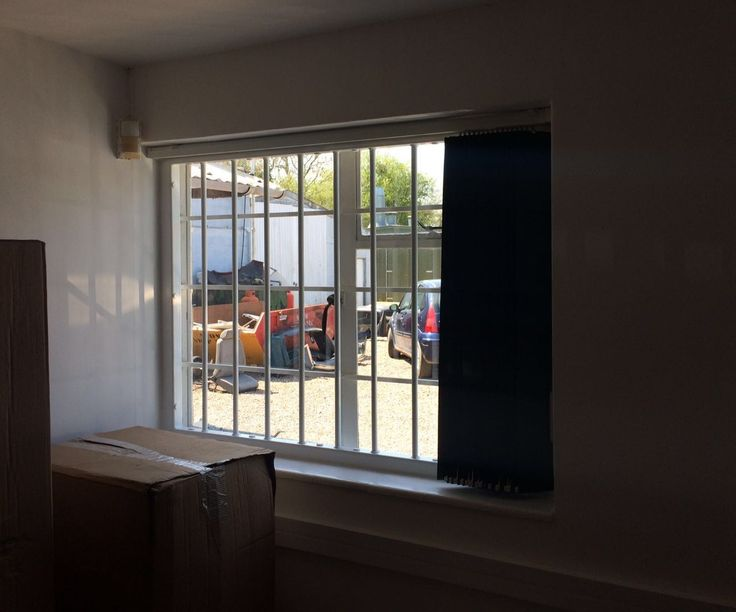 RSG2000 security window bars fitted to a commercial property in Warwickshire.