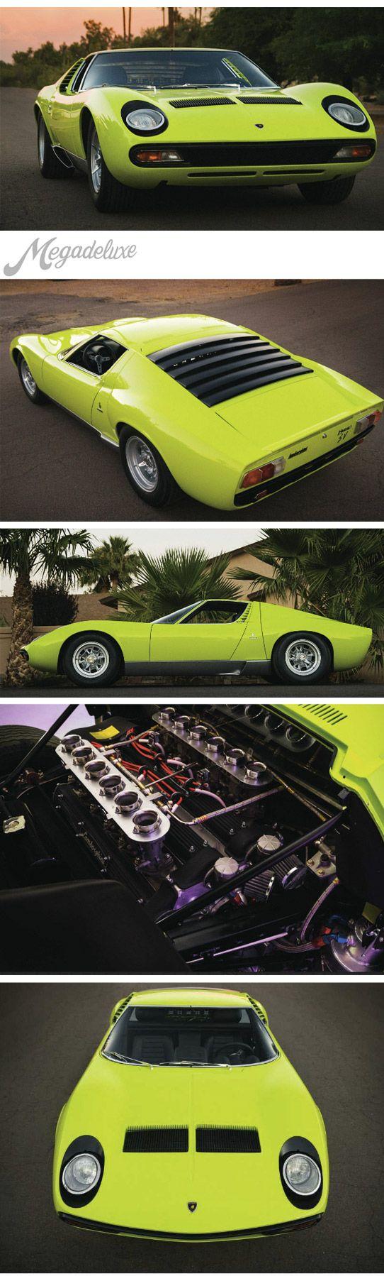 1967 LAMBORGHINI MIURA P400 SV CONVERSION ✏✏✏✏✏✏✏✏✏✏✏✏✏✏✏✏ IDEE CADEAU / CUTE GIFT IDEA  ☞ http://gabyfeeriefr.tumblr.com/archive ✏✏✏✏✏✏✏✏✏✏✏✏✏✏✏✏