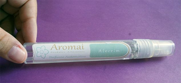 Spray Automotivo Aromai
