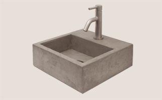 Toilet fontein, wc fontein van Belgisch hardsteen, natuursteen