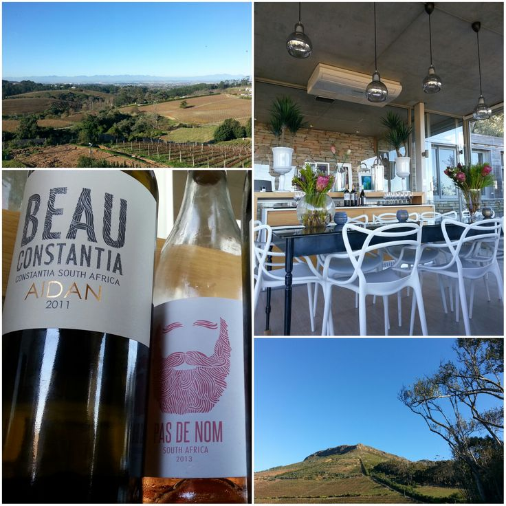 Wine tasting at Beau Constantia, Cape Town, South Africa. Pic: Robin Brown