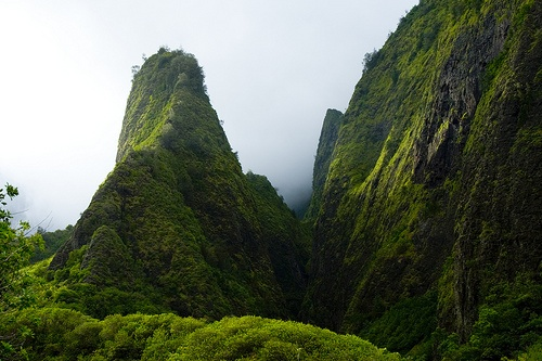 Iao Needle, Maui, HI .