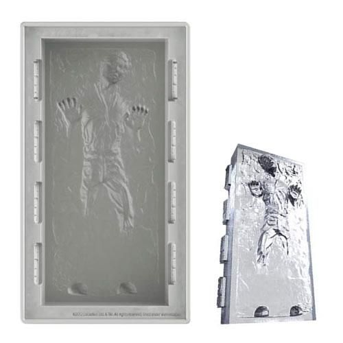 Star Wars Silicon Ice Tray - Deluxe Han Solo in Carbonite
