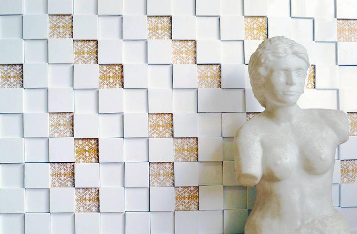 Brogliato Revestimentos - V011 Ouro - 30x30cm.