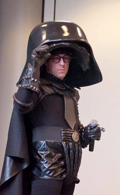 Bernie Bregman as Dark Helmet (costume by Castle Corsetry, helmet by Bilious Works) | Long Beach Comic & Horror Con - Masquerade 2013