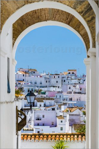 """#WallArt """"Poster Vejer de la Frontera"""" on #Posterlounge: online shop for #posters, #artprints, and #wall pictures 