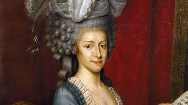 """Marie-Thérèse d'Autriche in le livre """"Le pouvoir au féminim"""" Elisabeth BADINTER"""