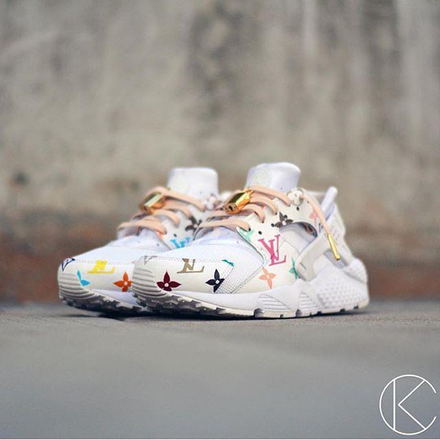 Nike Huarache Louis Vuitton