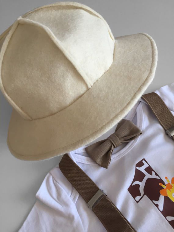 Safari selva Explorer tema pastel traje Smash Boy