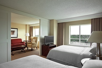 Loved this hotel! The room setup was great, I wish we could have stayed longer :) >>Sheraton Suites, Plantation, FL