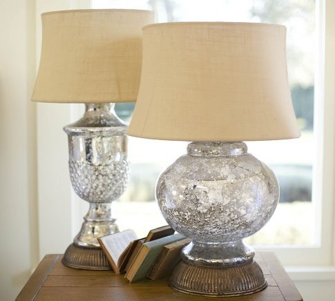 glass lamps glass lamp base mercury glass lamp bedside lamp looking. Black Bedroom Furniture Sets. Home Design Ideas