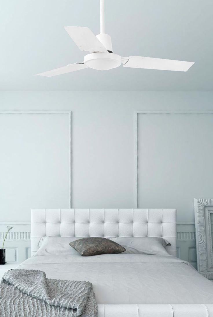 Ventilador de techo blanco MINI INDUS ambiente