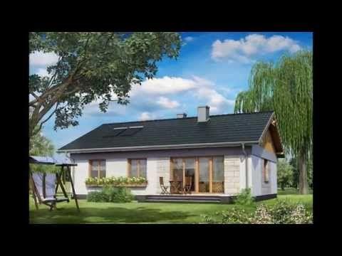 Montované nízkoenergetické domy - YouTube