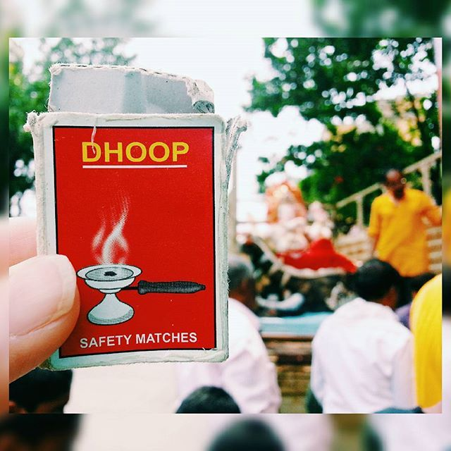 Lord Ganesha, the remover of obstacles just arrived! Dhoop  is lit on auspicious occasions  such as today. Happy Ganesh Chaturthi! Bombay, Sept '15. #matchboxmemory #phillumeny #indianmatchboxes #matchboxes #ganesha #ganeshchaturthi #dhoop #incense #ganpati #elephant #pray #hobby #popculture #instagram #instadaily #matchboxart #curate #collection #fromwhereistand #design #hindu #art #tradition #mumbai #instamumbai #mumbaiigers #vscocam #instagood #safetymatches #goodvibes