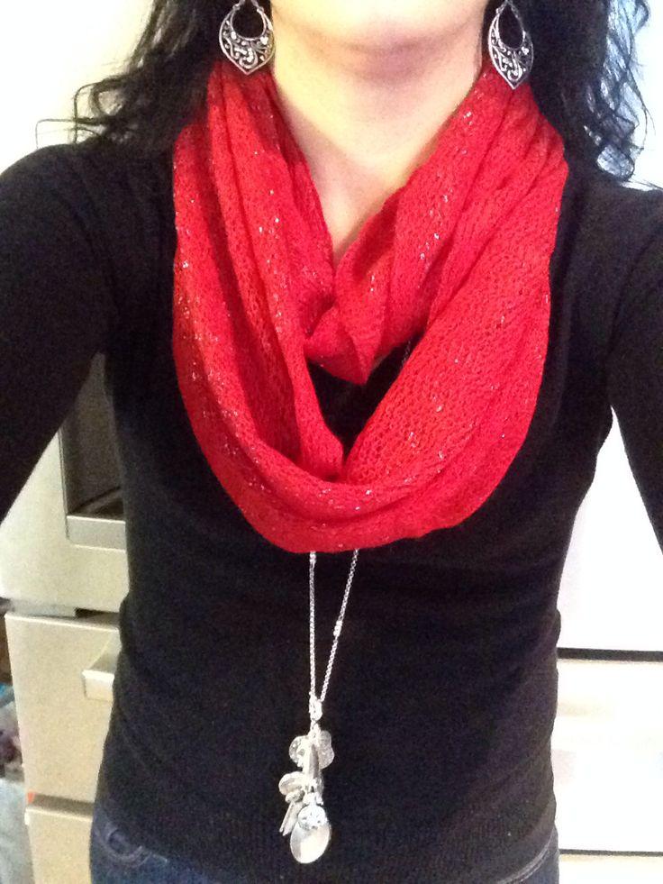 Near & Dear necklace with Blissful earrings.