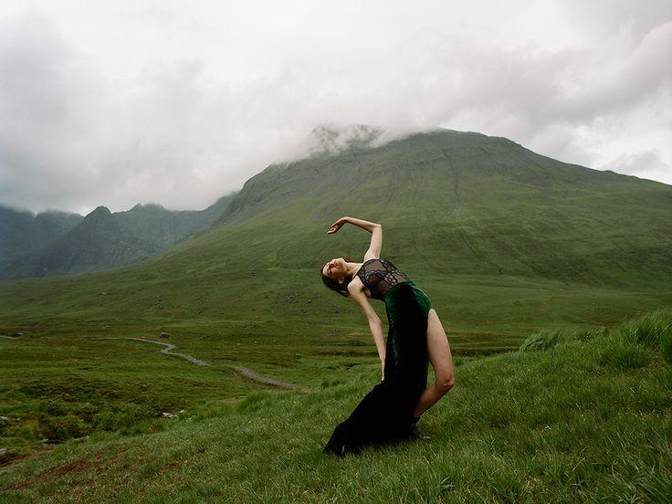 Amanda Charchian shoots Klara Kristin for Numero 176