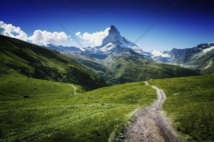 Matterhorn II - Fototapeter & Tapeter - Photowall