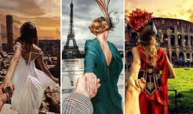 Follow me: Το ΜΥΣΤΗΡΙΩΔΕΣ ζευγάρι συνεχίζει το γύρο του κόσμου και φωτογραφίζει τα πιο ΥΠΕΡΟΧΑ αξιοθέατα...