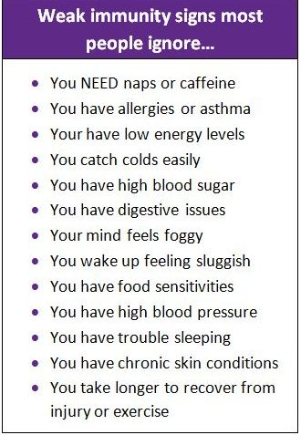 Signs of a Weak Immunity System  PLexus can fix that! Get your A+ multivitamin at plexusbyjackie.com