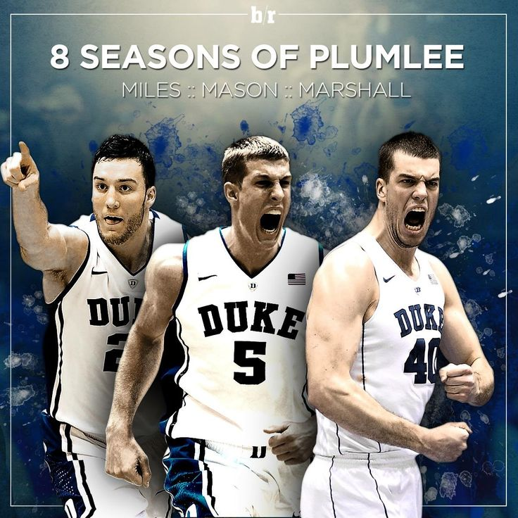 Duke Basketball - 8 SEASONS OF PLUMLEE