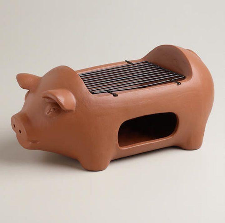 Pig Terra-cotta Grill